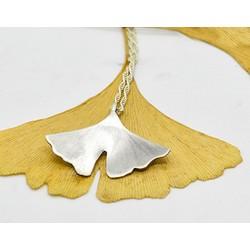 Collar Ginkgo Plata